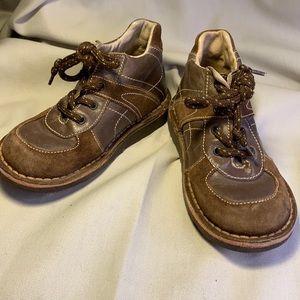 Naturino leather laceup boot amazing craftsmanship